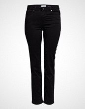 Violeta by Mango Slim-Fit Valentin Jeans Skinny Jeans Svart VIOLETA BY MANGO