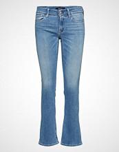 Replay Luz Bootcut Jeans Boot Cut Blå REPLAY