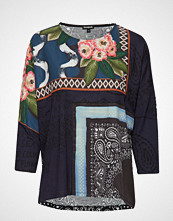 Desigual Ts Audrie T-shirts & Tops Long-sleeved Multi/mønstret DESIGUAL