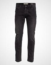 Mango Man Slim Fit Black Tim Jeans Slim Jeans Svart MANGO MAN