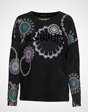 Desigual Ts Bruna T-shirts & Tops Long-sleeved Svart DESIGUAL