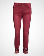 Desigual Pant Miami Colors Skinny Jeans Rød DESIGUAL