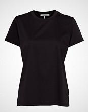 Scotch & Soda Mercerized Tee T-shirts & Tops Short-sleeved Svart SCOTCH & SODA