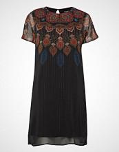 Desigual Vest Mexican Knelang Kjole Svart DESIGUAL