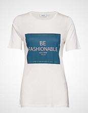 Saint Tropez U1511, Jersey T-Shirt S/S T-shirts & Tops Short-sleeved Hvit SAINT TROPEZ