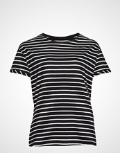 Violeta by Mango Organic Cotton T-Shirt T-shirts & Tops Short-sleeved Svart VIOLETA BY MANGO