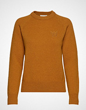 Wood Wood Asta Sweater Strikket Genser Oransje WOOD WOOD