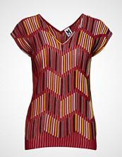 M Missoni 2dn00096-2k002b T-shirts & Tops Short-sleeved Rød M MISSONI
