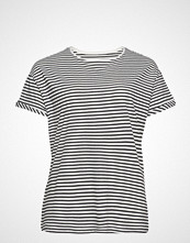 Violeta by Mango Organic Cotton T-Shirt T-shirts & Tops Short-sleeved Blå VIOLETA BY MANGO