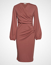 Residus Milou Dress Knelang Kjole Rosa RESIDUS