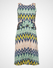 M Missoni M Missoni-Sleeves Dress Knelang Kjole Multi/mønstret M MISSONI