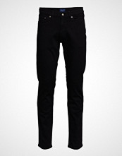 Gant D1. Slim Black Gant Jeans Slim Jeans Svart GANT