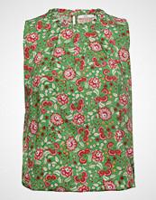 Edc by Esprit Blouses Woven Bluse Kortermet Multi/mønstret EDC BY ESPRIT