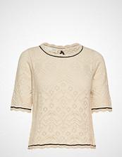 Odd Molly Good Gracious Sweater Bluse Kortermet Creme ODD MOLLY