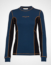 Wood Wood Sally Long Sleeve T-shirts & Tops Long-sleeved Blå WOOD WOOD