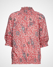 Odd Molly Lush Shake S/S Blouse Bluse Kortermet Rosa ODD MOLLY