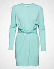 Ivyrevel Cross Front Dress Knelang Kjole Blå IVYREVEL