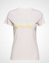 GAP Gap Ss Grad Tee T-shirts & Tops Short-sleeved Rosa GAP
