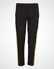 Scotch & Soda Tailored Stetch Pants With Contrast Side Panel Bukser Med Rette Ben Svart SCOTCH & SODA