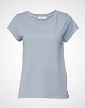 Samsøe & Samsøe Liss Ss Gd 3174 T-shirts & Tops Short-sleeved Blå SAMSØE & SAMSØE
