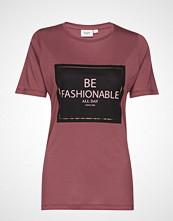 Saint Tropez U1511, Jersey T-Shirt S/S T-shirts & Tops Short-sleeved Lilla SAINT TROPEZ