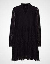 Yas Yasholi Ls Dress D2d Kort Kjole Svart YAS