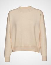 Mango Knit Sweater Strikket Genser Beige MANGO
