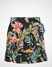 Only Onlnova Lux Wrap Skirt Aop 5 Wvn Kort Skjørt Multi/mønstret ONLY