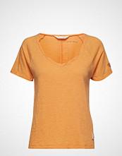 Odd Molly Deep Vibes Top T-shirts & Tops Short-sleeved Oransje ODD MOLLY