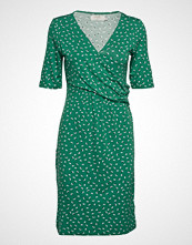 Cream Alexa Dress Knelang Kjole Grønn CREAM