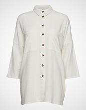 Vila Vilinnan 3/4 Long Shirt Langermet Skjorte Hvit VILA