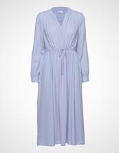 Filippa K Athena Dress Knelang Kjole Blå FILIPPA K