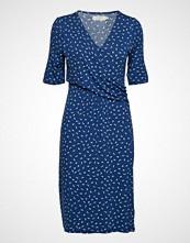 Cream Alexa Dress Knelang Kjole Blå CREAM