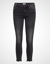 Tommy Jeans Mid Rise Skinny Nora Skinny Jeans Grå TOMMY JEANS