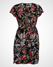 French Connection Floreta Shadow Wrap Dress Kort Kjole Multi/mønstret FRENCH CONNECTION