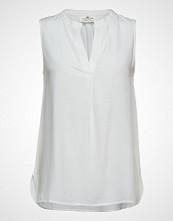 Lexington Clothing Nadeen Top Bluse Ermeløs Hvit LEXINGTON CLOTHING