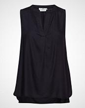 Lexington Clothing Nadeen Top Bluse Ermeløs Svart LEXINGTON CLOTHING