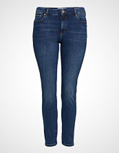 Violeta by Mango Jeans Bi-Stretch Push-Up Irene Skinny Jeans Blå VIOLETA BY MANGO
