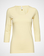 Soyaconcept Sc-Pylle T-shirts & Tops Long-sleeved Gul SOYACONCEPT