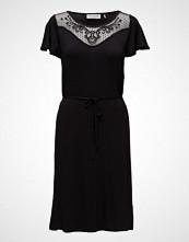 Rosemunde Dress Ss Kort Kjole Svart ROSEMUNDE