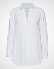 GAP Popover Tunic Linen Yd Langermet Skjorte Hvit GAP