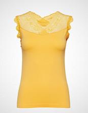 Minus Vanessa Top T-shirts & Tops Sleeveless Gul MINUS
