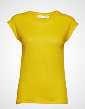 InWear Faylinn O T-Shirt T-shirts & Tops Short-sleeved Gul INWEAR