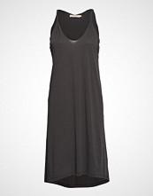 Rabens Saloner Twisted Jersey Tank Dress Knelang Kjole Svart RABENS SAL R