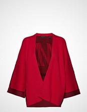 Armani Exchange Woman Knitwear Cardigan Strikkegenser Cardigan Rød ARMANI EXCHANGE