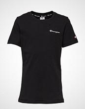 Cènnìs Crewneck T-Shirt T-shirts & Tops Short-sleeved Svart CHAMPION
