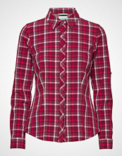 Columbia Saturday Trail™ Stretch Plaid Ls Shirt Langermet Skjorte Rød COLUMBIA