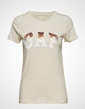 GAP Gap Ss Grad Tee T-shirts & Tops Short-sleeved GAP