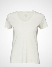 Gant O2. Sunbleached Ss T-Shirt T-shirts & Tops Short-sleeved Hvit GANT