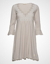 Odd Molly Lace Vibration Dress Kort Kjole Grå ODD MOLLY